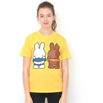 [マルイ] 【ユニセックス】コラボレーションTシャツ/ミッフィーとメラニー(ミッフィー)/グラニフ(graniph)