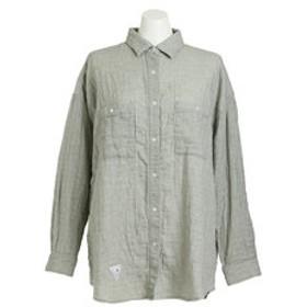 【Super Sports XEBIO & mall店:トップス】【ゼビオオンラインストア価格】綿麻ボックスシャツ CH24L002 LKHK