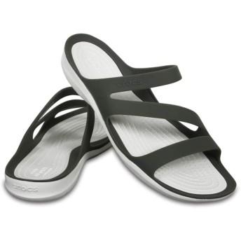 【クロックス公式】 スウィフトウォーター サンダル ウィメン Women's Swiftwater Sandal ウィメンズ、レディース、女性用 グレー/グレー 22cm,23cm,24cm,25cm sandal サンダル