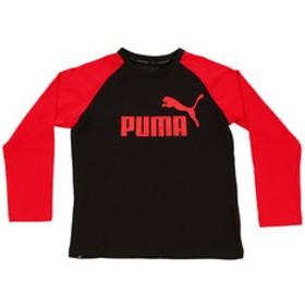 【Super Sports XEBIO & mall店:トップス】ジュニア 長袖Tシャツ 594655 01 BLK
