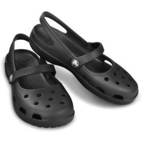 【クロックス公式】 シャイナ メリージェーン ウィメン Women's Shayna Mary Jane ウィメンズ、レディース、女性用 ブラック/黒 21cm,22cm,23cm,24cm,25cm shoe 靴 シューズ