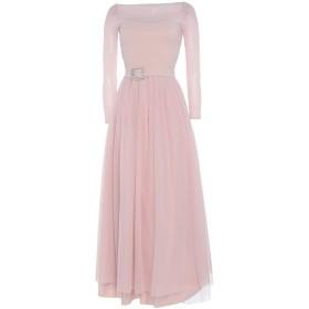 《期間限定セール中》CHIARA BONI LA PETITE ROBE レディース ロングワンピース&ドレス ピンク 40 ナイロン 72% / ポリウレタン 28%