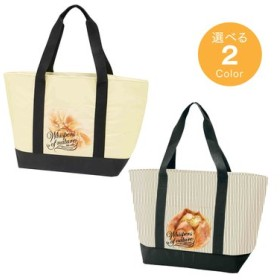 たっぷり入るトート保冷ショッピングバッグ ベーカリー フェリシモ FELISSIMO【送料:450円+税】