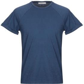 《期間限定セール開催中!》WOOL & CO メンズ T シャツ ブルー M コットン 100%