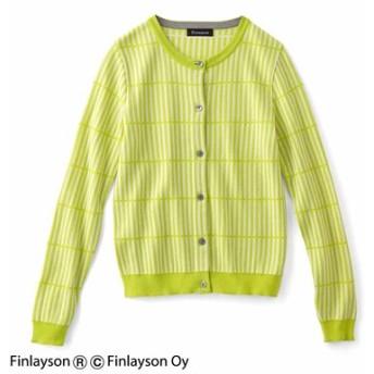 Finlayson フィンレイソン ニットカーディガン〈ルオコ〉 フェリシモ FELISSIMO【送料無料】