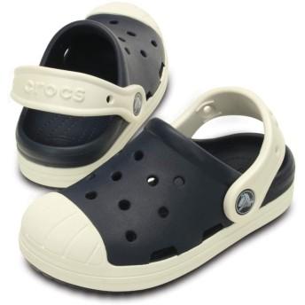 【クロックス公式】 クロックス バンプ イット クロッグ キッズ Kids' Crocs Bump It Clog ユニセックス、キッズ、子供用、男の子、女の子、男女兼用 ブルー/青 14cm,15cm,15.5cm,16.5cm,17.5cm,18cm,18.5cm,19cm,19.5cm,20cm,21cm clog クロッグ サンダル