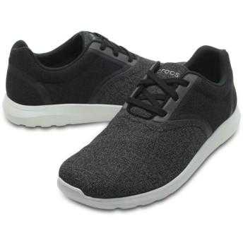 【クロックス公式】 クロックス キンセイル スタティック レース メン Men's Crocs Kinsale Static Lace メンズ、紳士、男性用 ブラック/黒 26cm,27cm,28cm,29cm shoe 靴 シューズ 30%OFF