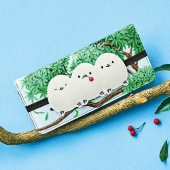 YOU+MORE! 小枝にちょこんっととまる 小鳥カードケースの会 フェリシモ FELISSIMO【送料:450円+税】