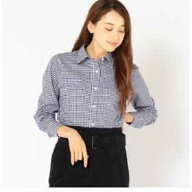 【SHIPS:トップス】PrimaryNavyLabel:チェックシャツ