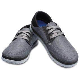 【クロックス公式】 サンタクルーズ プラヤ レース メン Men's Santa Cruz Playa Lace-Up メンズ、紳士、男性用 グレー/グレー 25cm,26cm,27cm,28cm,29cm shoe 靴 シューズ