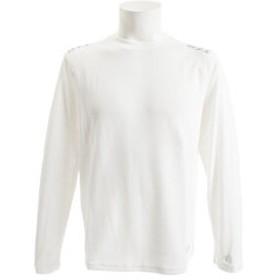 【Super Sports XEBIO & mall店:トップス】DFCワッフルロングTシャツ 863D8HD2671 WHT