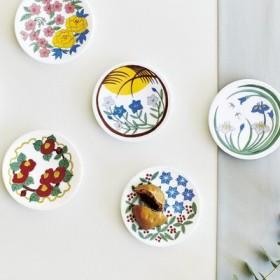 日本の四季を楽しむ 花紋豆皿の会 フェリシモ FELISSIMO【送料:450円+税】