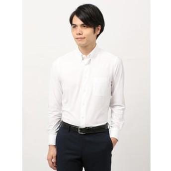 【THE SUIT COMPANY:トップス】<ノンアイロンジャージー素材>【WE SUIT YOU】ボタンダウンカラードレスシャツ