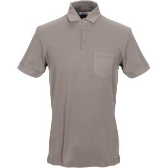 《期間限定セール開催中!》COOPERATIVA PESCATORI POSILLIPO メンズ ポロシャツ 鉛色 S コットン 100%