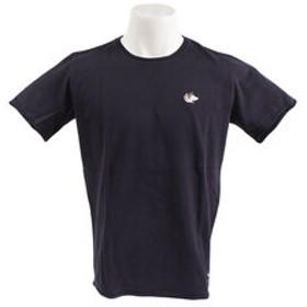 【Super Sports XEBIO & mall店:トップス】【オンライン特価】 32/2 クルーネックTシャツ C/O 863EK9HD9410 NVY