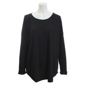 【Super Sports XEBIO & mall店:トップス】ポケット付き ロールアップ長袖Tシャツ 18374054BK