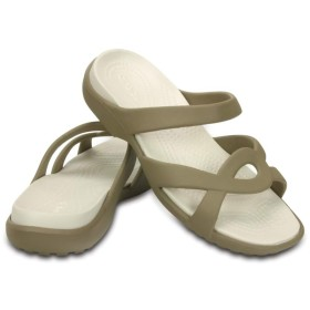 【クロックス公式】 メレーン ツイスト サンダル ウィメン Women's Meleen Twist Sandal ウィメンズ、レディース、女性用 ブラウン/茶 22cm,24cm sandal サンダル