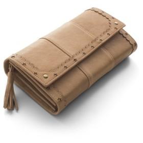 はまじとコラボ ずっと使いたい とっておきの本革長財布〈ベージュ〉 リブ イン コンフォート フェリシモ FELISSIMO【送料無料】