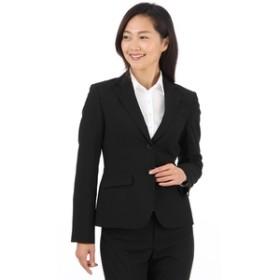 【洋服の青山:スーツ・ネクタイ】【セットアップ対応】【ブラック】2ボタンジャケット(クイーン)