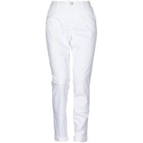 《セール開催中》LIU JO レディース パンツ ホワイト 26 コットン 98% / ポリウレタン 2%