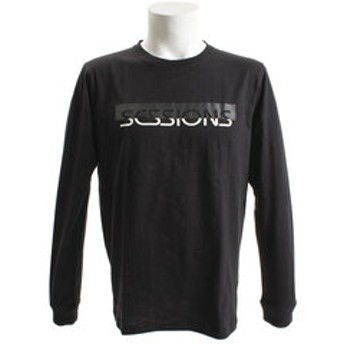 【Super Sports XEBIO & mall店:トップス】50/50 長袖Tシャツ 187025 BLK