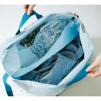 洗濯物の持ち運びにも便利 ハンガーすっきりおまとめバッグ フェリシモ FELISSIMO【送料:450円+税】