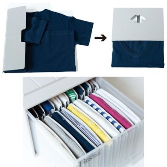 1/d for Shirts トップスたたんで収納ボードの会 フェリシモ FELISSIMO【送料:450円+税】