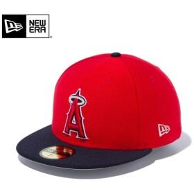 【メーカー取次】 NEW ERA ニューエラ 59FIFTY MLB On-Field バッティングプラクティス Hex Tech ロサンゼルス・エンゼルス 11904414 メジャーリーグ 帽子