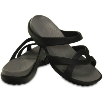 【クロックス公式】 メレーン ツイスト サンダル ウィメン Women's Meleen Twist Sandal ウィメンズ、レディース、女性用 ブラック/黒 21cm,22cm,23cm,24cm,25cm sandal サンダル 40%OFF