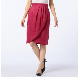 SALE開催中【NOLLEY'S:スカート】スエードチューリップスカート