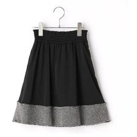【COMME CA FILLE:スカート】からみ織りツィードスカート