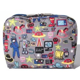 【LeSportsac:財布/小物】EXTRA LARGE RECTANGULAR COSMETIC/バッカルー