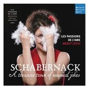 レ・パシオン・ド・ラーム Schabernack - A Treasure Trove of Musical Jokes CD