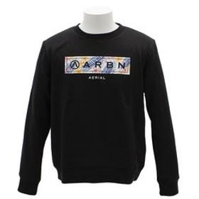 【Super Sports XEBIO & mall店:トップス】BOTANICAL BAR CREW 長袖シャツ AB93AW1108 BLK