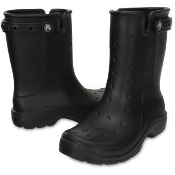 【クロックス公式】 レニー 2.0 ブーツ Reny II Boot ユニセックス、メンズ、レディース、男女兼用 ブラック/黒 22cm,23cm,24cm,25cm,26cm,27cm,28cm,29cm boot ブーツ 30%OFF