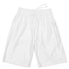 【Super Sports XEBIO & mall店:スポーツ】ポケット付き 刺繍ハーフパンツ 751G7CD2178 WHT