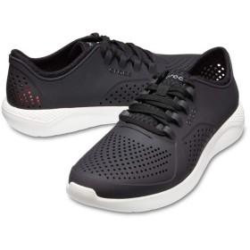 【クロックス公式】 ライトライド ペイサー メン Men's LiteRide Pacer メンズ、紳士、男性用 ブラック/黒 25cm,26cm,27cm,28cm,29cm shoe 靴 シューズ