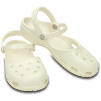 【クロックス公式】 クロックス カリン クロッグ ウィメン Women's Crocs Karin Clog ウィメンズ、レディース、女性用 ホワイト/白 21cm,22cm,23cm,24cm,25cm clog クロッグ サンダル