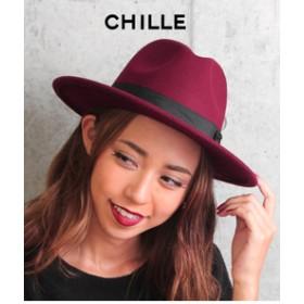 【ANAP:帽子】フェルトつば広ハット