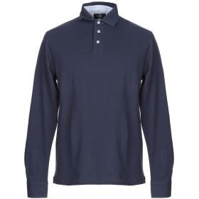 《期間限定セール中》HACKETT メンズ ポロシャツ ダークブルー XS コットン 92% / ポリウレタン 8%