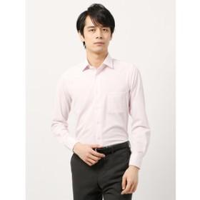 【THE SUIT COMPANY:トップス】<ノンアイロンジャージー素材>【WE SUIT YOU】ワイドカラードレスシャツ