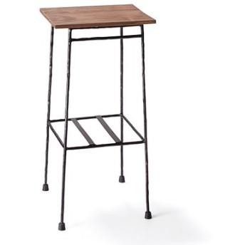 少し背の高い ちょい置きマイカフェテーブルブラックの会 フェリシモ FELISSIMO【送料無料】