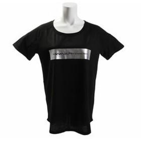 【Super Sports XEBIO & mall店:トップス】半袖Tシャツ Square WB37JA48 BLK