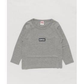 【EDWIN:トップス】ベーシック ロゴTシャツ【100-120cm】