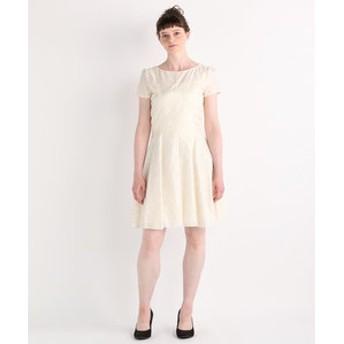 【Blumarine:ワンピース】Cut Jacquard ドレス