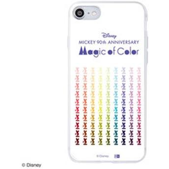 【Mickey 90th Anniversary Magic of Color:雑貨】iPhone 8 / 7 /『ディズニーキャラクター』/TPUケース+背面パネル『ミッキーマウス 90周年/Colorful』_12