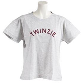 【SALE/送料無料】【Super Sports XEBIO & mall店:トップス】TWINZIE ロゴプリントTシャツ 872Q8CD2052MGRY