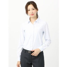 【THE SUIT COMPANY:トップス】【ノンアイロンジャージー素材】Easy Care Stretch Blouse スキッパーカラー