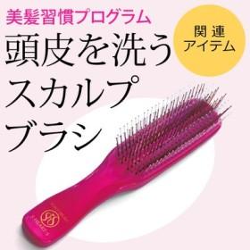 頭皮を洗って毎日髪ふんわり ヘッドスパ気分のスカルプブラシ フェリシモ FELISSIMO【送料無料】