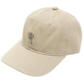 【Super Sports XEBIO & mall店:帽子】モチーフ ワッペン キャップ AG83AC1077 BEG